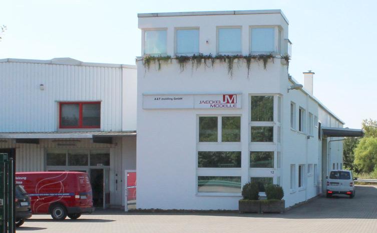 Das Firmengebäude von Jaeckel Modelle